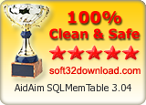 100% Clean and Safe to install Soft32Download Award: